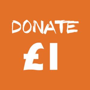 donate £1