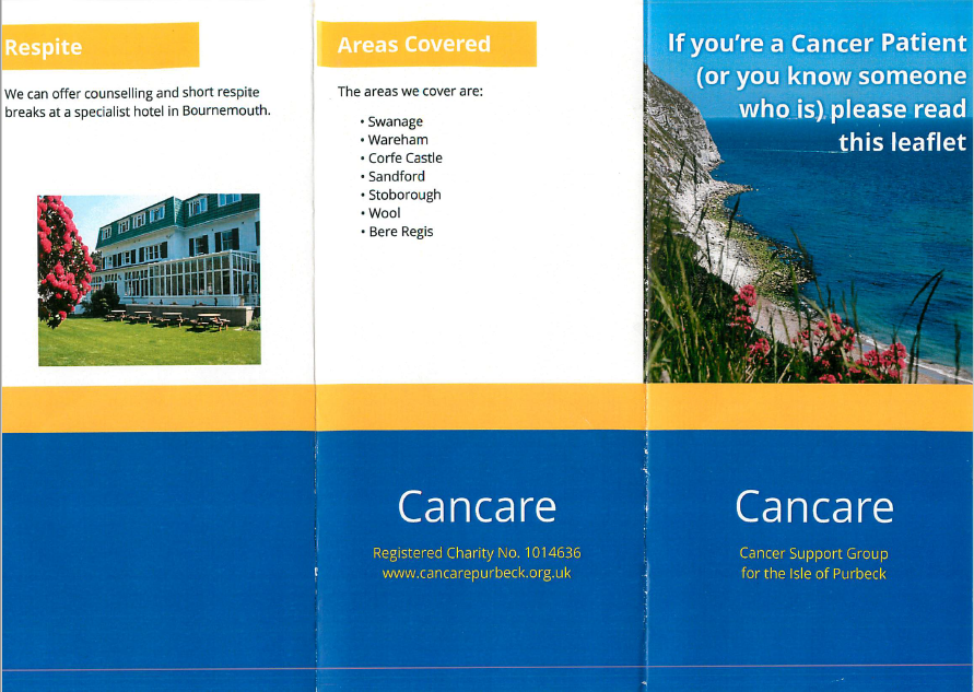 Cancare flyer