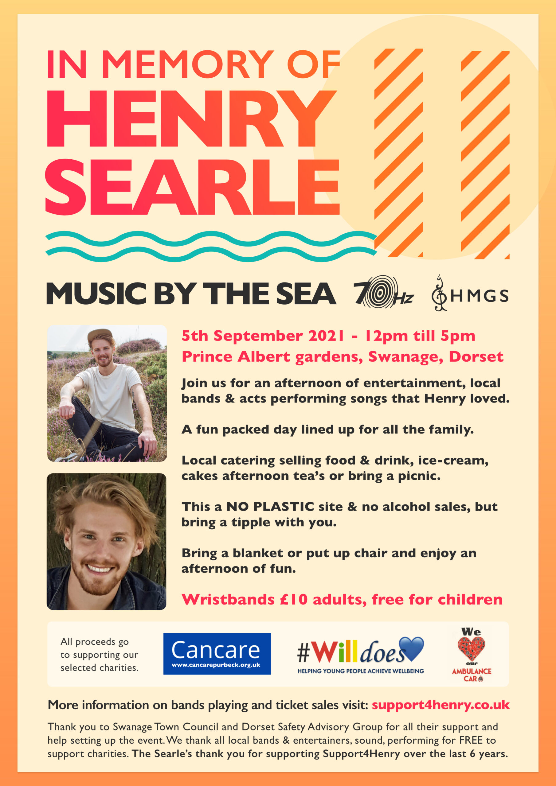 Music by the sea poster